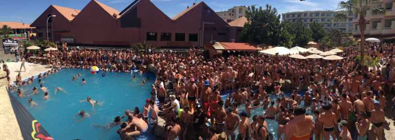 Gay Pride Maspalomas Pool Party