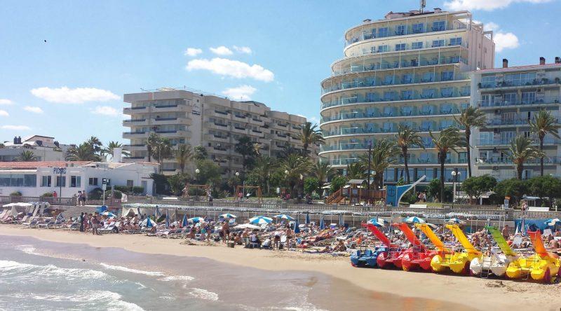 Gay Beach Stiges Stadt