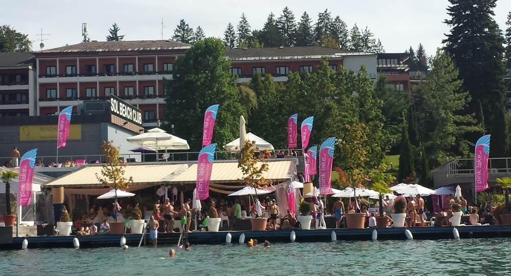 Pink Lake Beach Club