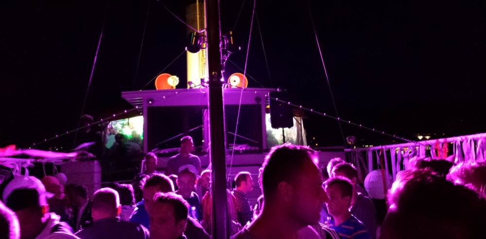 Pink Lake Boat Cruise Party
