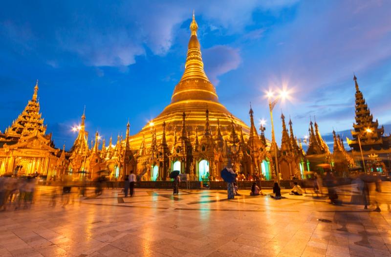 Schwule Gruppenreise nach Myanmar